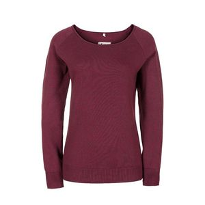 Knitted Jumper Ladies red - bleed