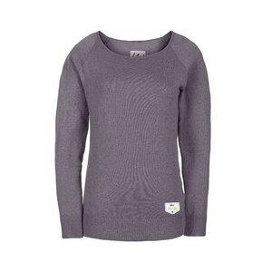 Knitted Jumper Ladies grey - bleed