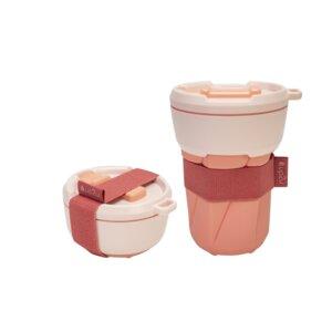 Faltbarer Mehrwegbecher MuC My useful Cup®   Made in Germany   350ml - up2u