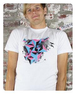 Triangle T-Shirt Männer - Trusted Fair Trade Clothing