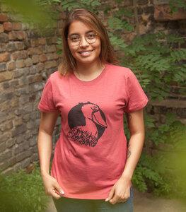 Sally Schuhschnabel - Frauen T-Shirt - Fair gehandelt aus Baumwolle Bio - päfjes