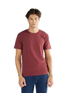 """1 oder 2 Stück Herren Kurzarm T-shirt aus Bio-Baumwolle Rundhalsausschnitt """"Albero"""" 2218 - Albero"""
