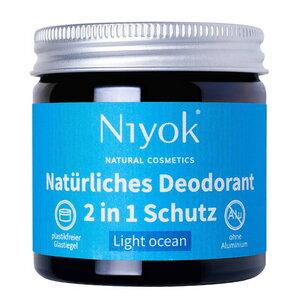 Niyok 2 in 1 Deodorant antitranspirant in 7 Duftrichtungen - Niyoks Naturkosmetik