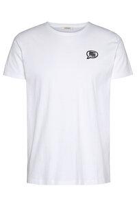 """Herren T-Shirt aus Biobaumwolle """"Core tee mal tinto"""" mit Badge - Wunderwerk"""