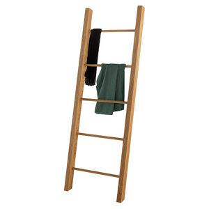 Kleiderleiter Eiche Massivholz und Handarbeit aus Deutschland Handtuchleiter - GreenHaus