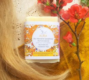 Haarseife Aura - für normales bis trockenes Haar - Küstenseifen Manufaktur