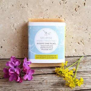 See Brise Bioseife für trockene Haut mit Wildrosen-Extrakt - Küstenseifen Manufaktur