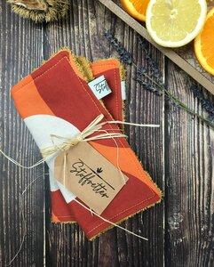 Spültuch Pumpkin - 2 Stück, waschbar - Stoffretter