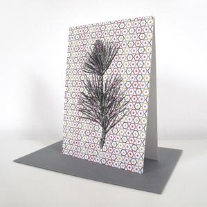 Weihnachtskarte Zweig - ava&yves