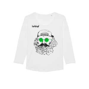 SKATER - Damen Langarmshirt aus Bio-Baumwolle von karlskopf - karlskopf