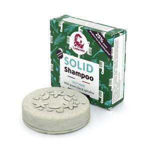 Festes Shampoo Spirulina - für fettiges Haar - Lamazuna
