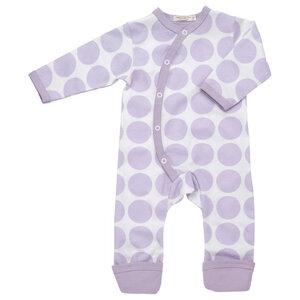Kimono-Strampler LAVENDEL (GOTS zertifiziert) - Organics for Kids