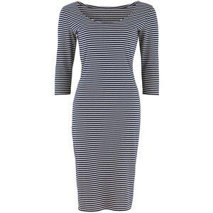 Jerseykleid Jocelyn stripe fitted dress - People Tree