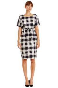 Suzanne Dress - Navy - People Tree