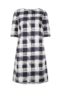Lizzie Dress - Navy - People Tree