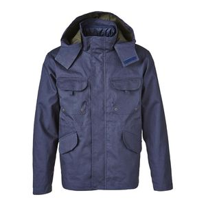 Double Layer Jacket Total Eclipse - KnowledgeCotton Apparel