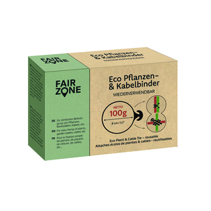 FAIR ZONE ECO Pflanzen- und Kabelbinder 100 g Box - Fair Zone