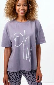 Boxy T-Shirt Ohlala Bio Baumwolle - OGNX