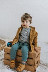 Kinder T-Shirt aus weichem Bio-Jersey - frankie & lou organic wear