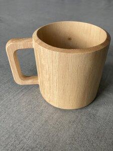 Handgefertigte Kaffeetasse aus hellem Holz - BY COPALA
