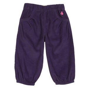 Baby u. Kinder Cordhose violett  Bio Baumwolle - Kite