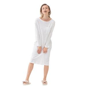 Damen Nachthemd Sleepsation langarm aus Bio-Baumwolle - Mey