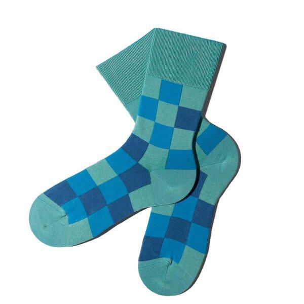 MINGA BERLIN - Pixelate Socken - Scuba