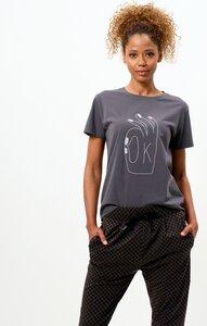 Vintage Cotton Loose T-Shirt OK - OGNX