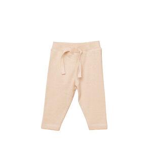 Baby Leggings aus 100% organischer Baumwolle GOTS zertifiziert in Beige - Caico Cotton