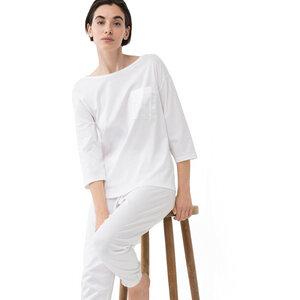 Damen Pyjama Shirt 3/4 Ärmel Sleepsation aus Bio-Baumwolle - Mey