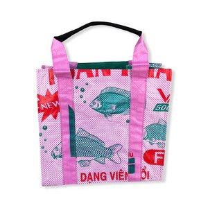 Einkaufstasche Ri4 recycelter Reissack - Beadbags