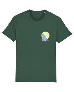 """Unisex T-Shirt aus Bio-Baumwolle """"Nixe"""" Stickerei - Bretter&Stoff"""