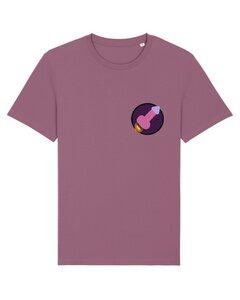 """Unisex T-Shirt aus Bio-Baumwolle """"Space Ship"""" Stickerei - Bretter&Stoff"""