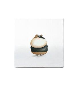 "Leinwandbild - Bild Hamster ""Agent 007"" - Dori´s Prints"