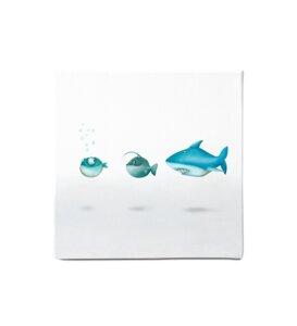 """Leinwandbild - Bild Fische """"La Familia"""" - Dori´s Prints"""