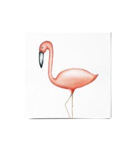 """Leinwandbild - Bild Flamingo """" Flavio"""" - Dori´s Prints"""