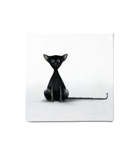 Leinwandbild - Bild Katze 'Blacky' - Dori´s Prints