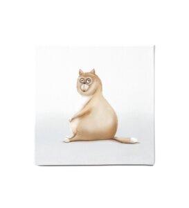 """Leinwandbild - Bild Katze """"Katy"""" - Dori´s Prints"""