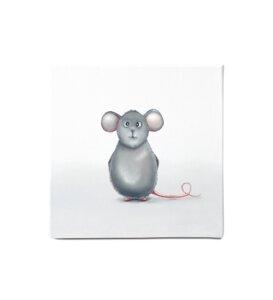 "Leinwandbild - Bild Maus ""Mins"" - Dori´s Prints"