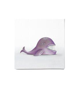 "Leinwandbild - Bild Wal ""Wally"" - Dori´s Prints"