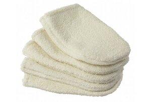 Mini Waschlappen zum Abschminken aus Bio-Baumwolle (5er Pack) - Easy Dort