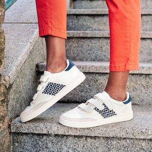 Sneaker Saigon Velcro - Ninh Binh - Slate Grey - N'go Shoes
