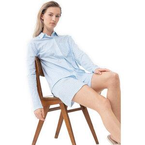 Damen Pyjama Shirt langarm Sleepsation Bio-Baumwolle - Mey