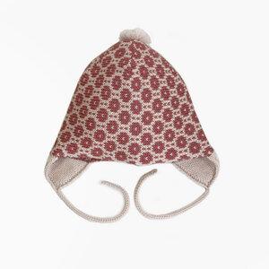 Mütze mit Pünktchenmuster - vincente