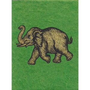 Briefkarte Elefant - Just Be