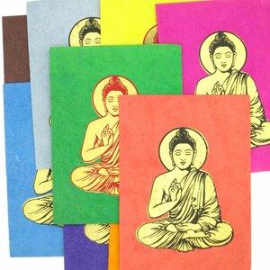 Briefkarte Buddha - Just Be