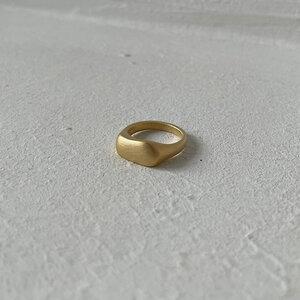 organischer Ring big - noemvri fashion label