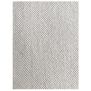 """Handgefertigter Flachgewebe-Teppich """"Flat"""" aus Wolle in Grau - versch. Größen - Prolana"""