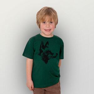 """""""Reineke Fuchs"""" Kinder-T-Shirt reine Biobaumwolle (kbA) - HANDGEDRUCKT"""