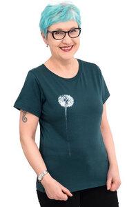 """Fair-Trade-Frauenshirt """"Pusteblume"""" - Made in Kenia - - Hirschkind"""